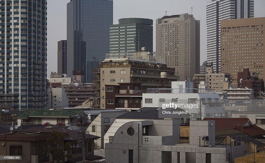 Shinjuku Buildings, Tokyo : Stock Photo