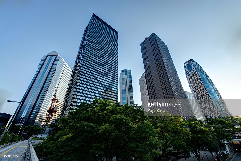 Shinjuku in the Morning : Stock Photo