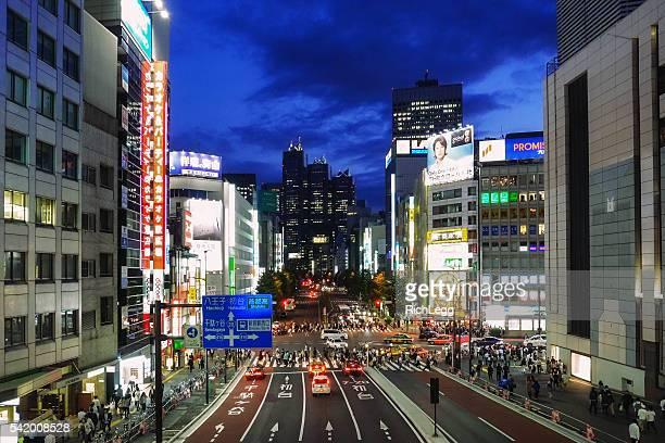 Shinjuku Japan at Night