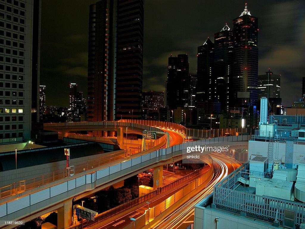 Shinjuku Longe exposure