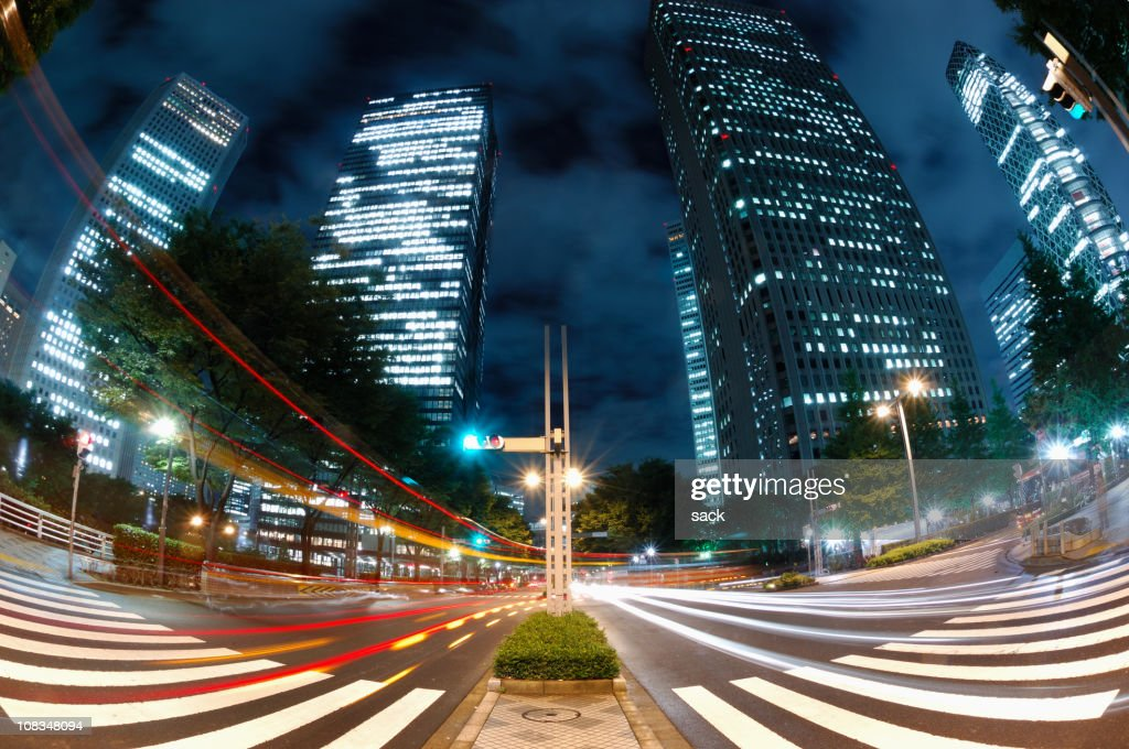 Shinjuku la nuit : Photo