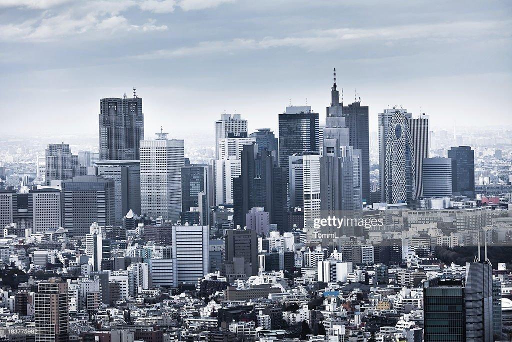 'Shinjuku Skyline in Tokyo, Japan'