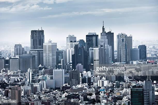 新宿のスカイラインに東京,日本