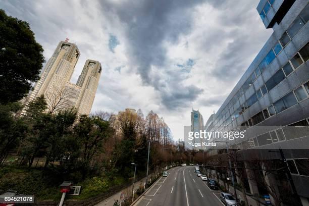 Shinjuku Skyscrapers on a Sunny Day