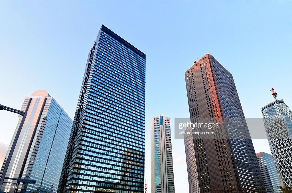 Shinjuku skyscrapers : Stock Photo