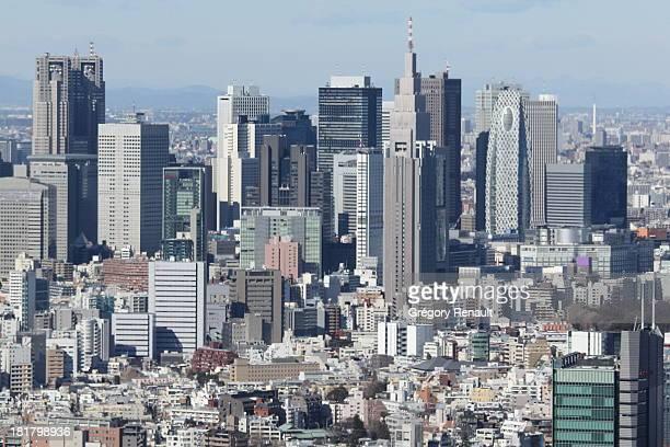 Shinjuku view from Roppongi