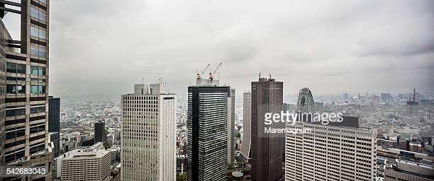 Shinjuku, view of the town