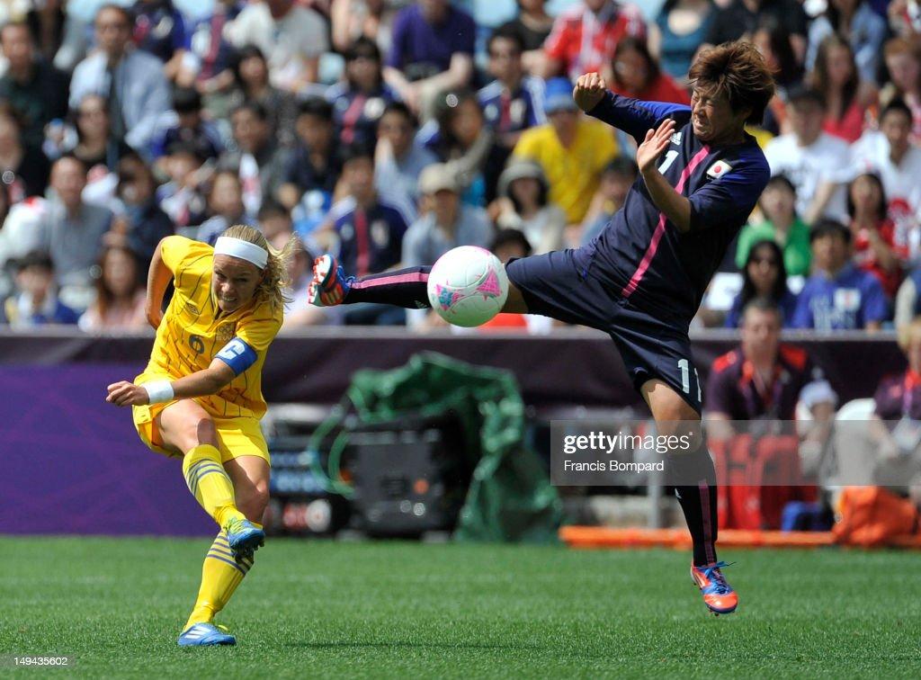Olympics Day 1 -  Women's Football - Japan v Sweden