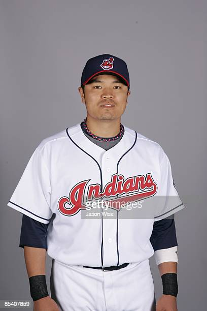 ShinSoo Choo of the Cleveland Indians poses during Photo Day on Saturday February 21 2009 at Goodyear Ballpark in Goodyear Arizona