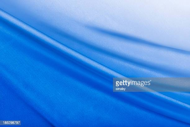 Shiny Blue Satin Background