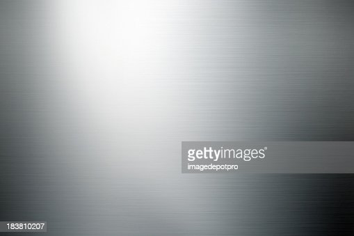 shiny brushed metal background