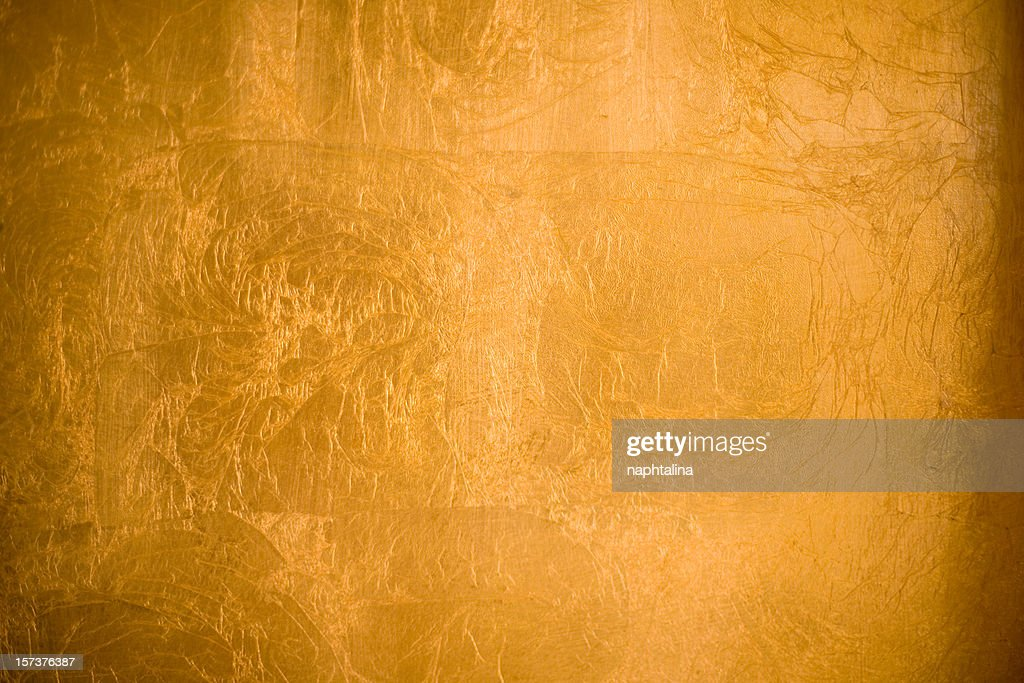 A shiny gold textured background