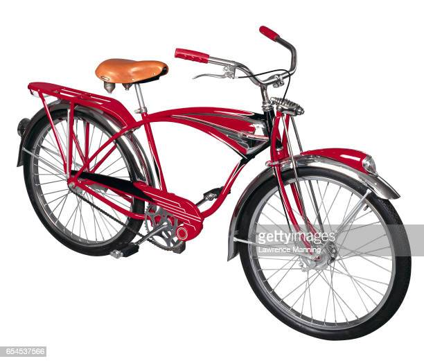 Shiny Red Bicycle