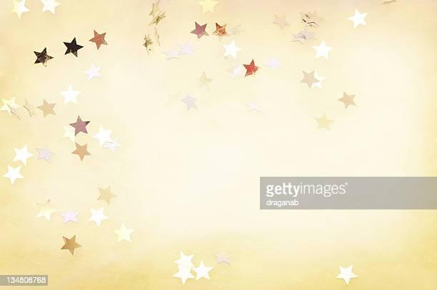 Glänzend Sternen Hintergrund