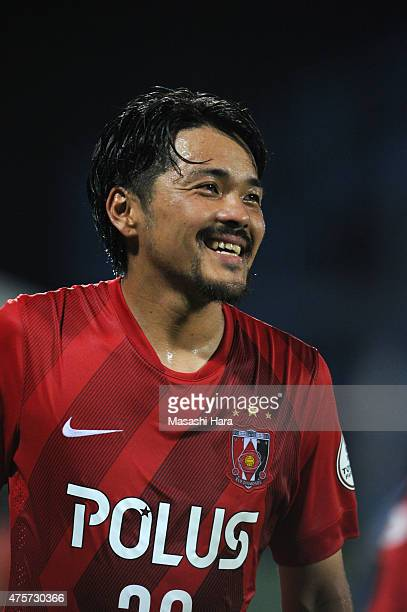 Shinzo Koroki of Urawa Red Diamonds looks on after the JLeague match between Kashiwa Reysol and Urawa Red Diamonds at Hitachi Kashiwa Soccer Stadium...