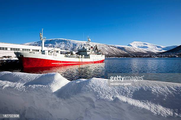 Schiff in Tromsø