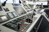 Ship captain control room