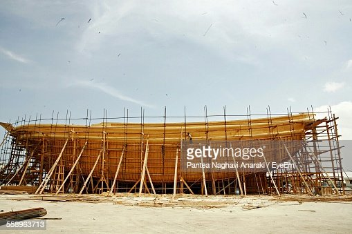 Ship In Construction