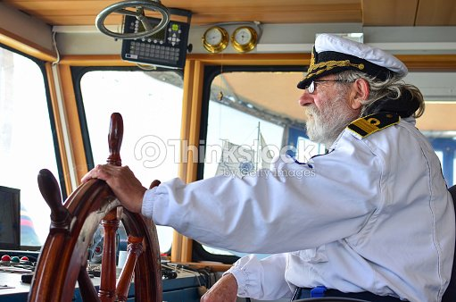 Ship navigation : Stock Photo