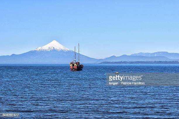 Ship on Lake Llanquihue