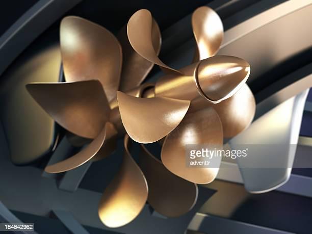 Barco de propeller