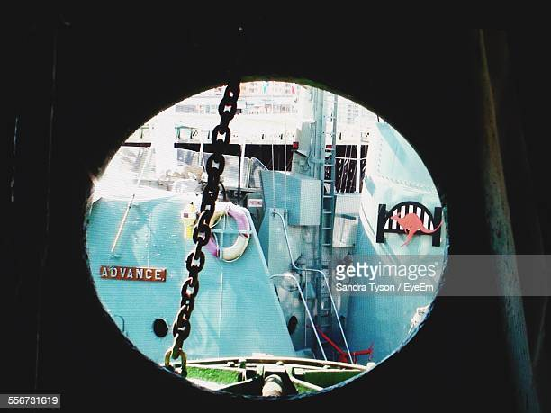 Ship Viewed Through Porthole