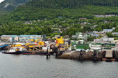 Shipping and loading dock Ketchikan AK Alaska United States