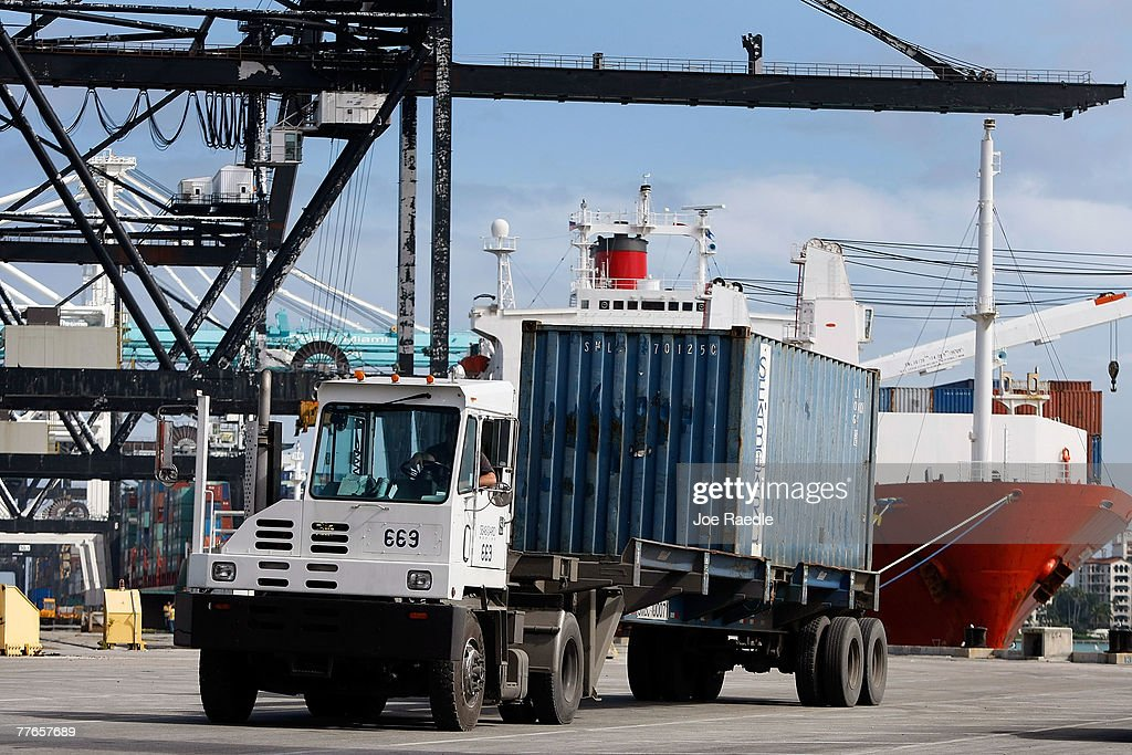 Customs And Border Patrol Officers Work At Port Of Miami Photos - Us customs miami map