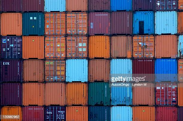 Shipping Containers - Rotterdam Port