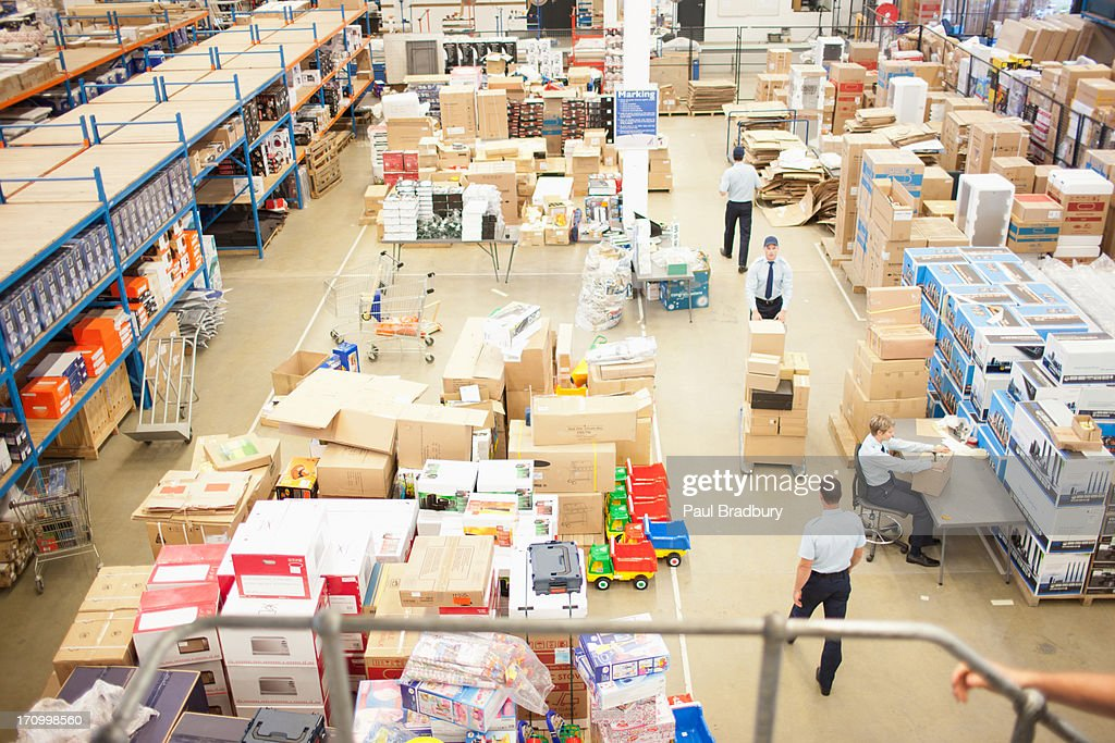 Shipping department : Stock Photo
