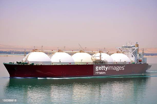 Shipping industry - LNG Tanker