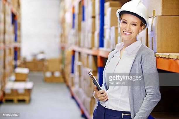 Versand Logistik mit einem Lächeln