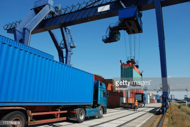 Shipping of containers