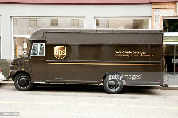 UPS Shipping Truck