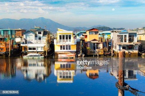 Ships and boats at Sausalito, California