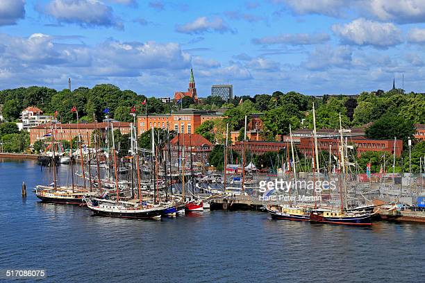 ships at Kiellinie, Kiel, Germany
