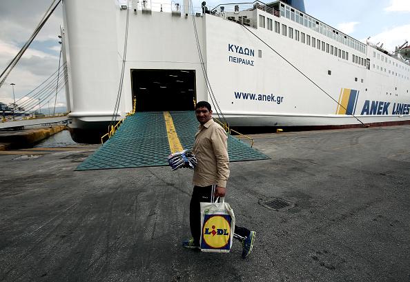48 hour strike at Piraeus port