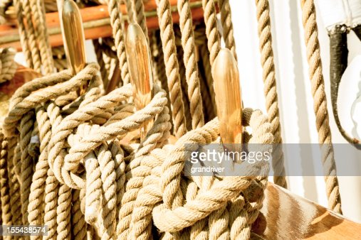 Ship's Rigging Ropes