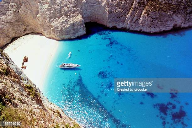 Shipwreck bay (Zakynthos)