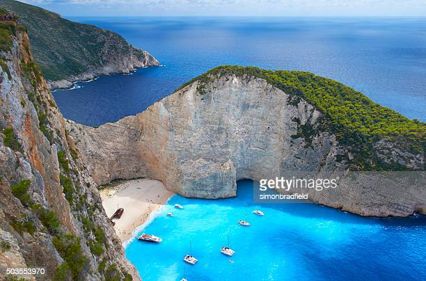 Shipwreck-Strand von Zakynthos, Griechenland
