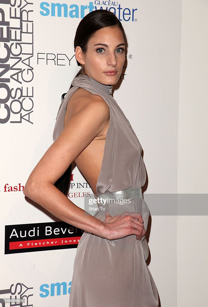 Shira Alexandra attends Fashion Group International's Meet the Designer & the Muse at Ace Gallery on March 8, 2012 in Los Angeles, California.
