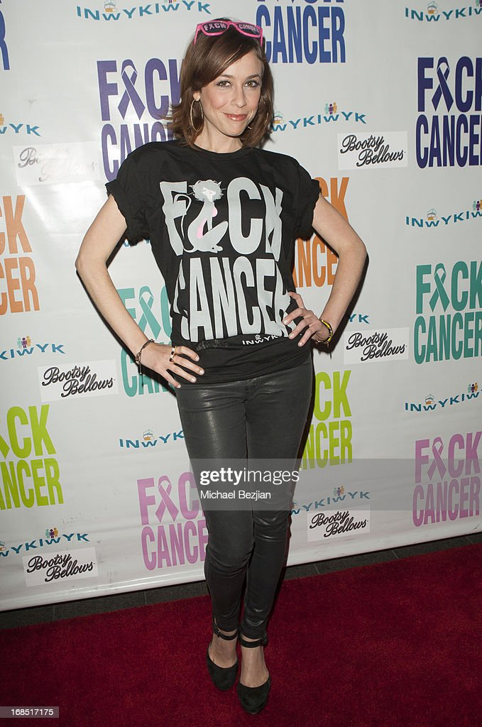 Shira Lazar attends 2nd Annual F*ck Cancer Charity Event LA at Bootsy Bellows on May 9, 2013 in West Hollywood, California.