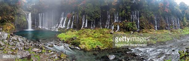 Shiraito falls panorama