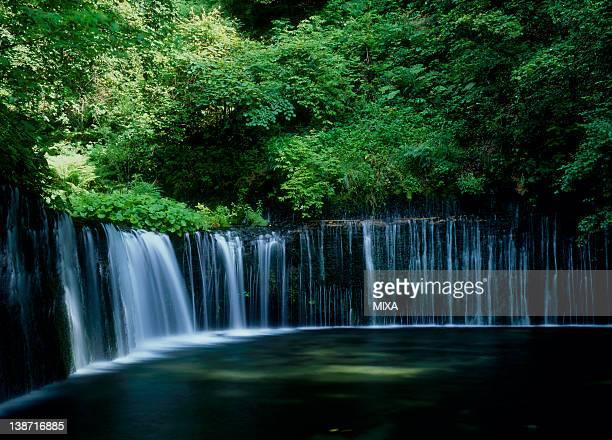 Shiraito Waterfall, Karuizawa, Nagano, Japan