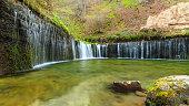 Shiraito Waterfall (Shiraito no taki), Karuizawa, Nagano Prefecture, Japan