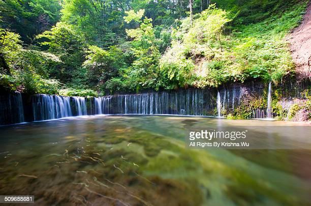 Shiraitono Falls in Karuisawa
