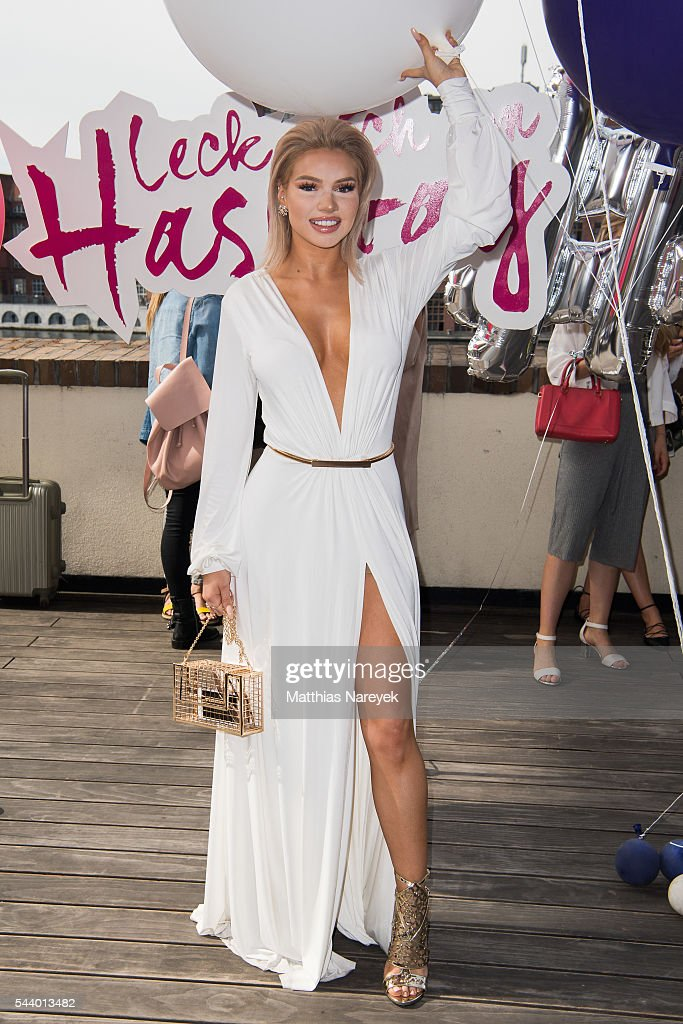 Shirin David during the 'LECK MICH AM HASHTAG' Brunch on June 30, 2016 in Berlin, Germany.