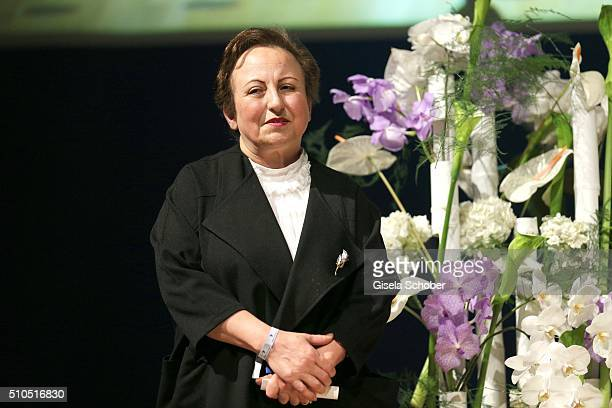 Shirin Ebadi during the Cinema For Peace Gala 2016 during the 66th Berlinale International Film Festival on February 15 2016 in Berlin Germany
