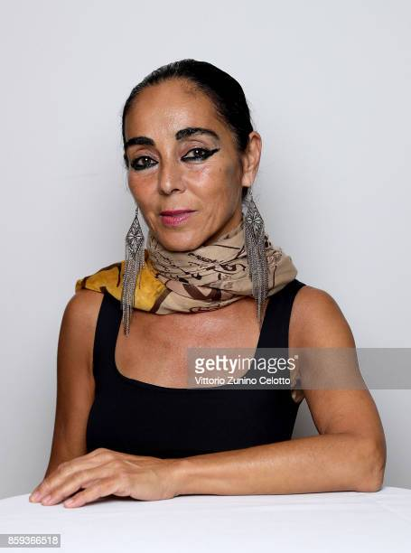 Shirin Neshat during a FilmMaker Afternoon Tea at the 61st BFI London Film Festival on October 9 2017 in London England