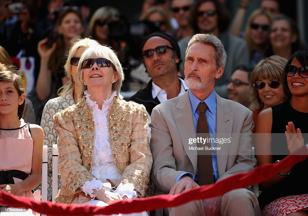 Shirlee Mae Adams and Robert Wolders attend actress Jane Fonda's Handprint/Footprint Ceremony during the 2013 TCM Classic Film Festival at TCL Chinese Theatre on April 27, 2013 in Los Angeles, California. 23632_009_MB_0024.JPG